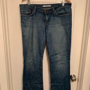 Joe's Jeans Straight-Leg Distressed Denim